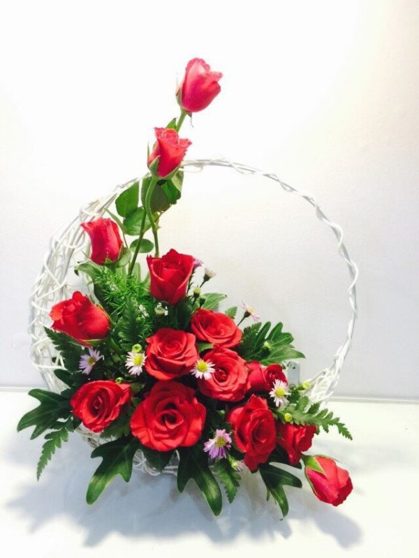 Các Kiểu Cắm Hoa Hồng