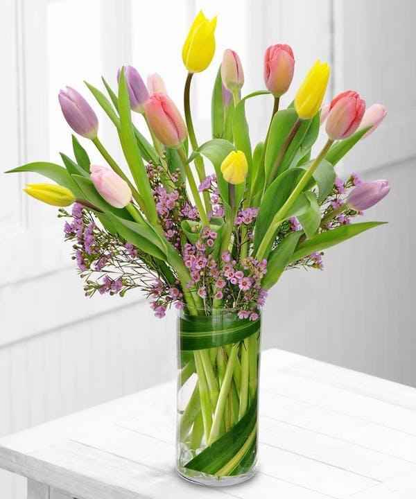 Cách Cắm Hoa Tulip Đơn Giản Nhưng Sang Trọng